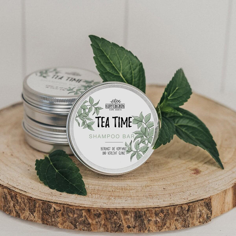Time Time - green tea shampoo bar