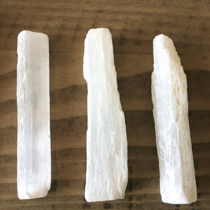 Selenite Stick Wands