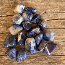 Load image into Gallery viewer, Sodalite Small Tumbled Stone