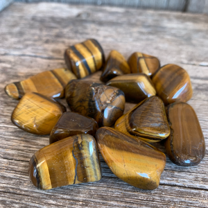 Tigers Eye Small Tumbled Stone