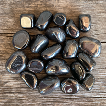 Load image into Gallery viewer, Hematite Small Tumbled Stone