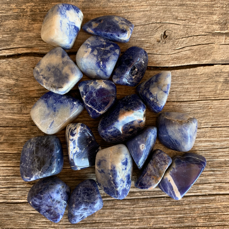 Sodalite Small Tumbled Stone