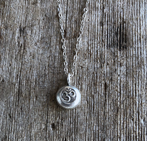 Small OM Necklace
