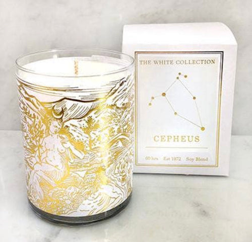 Cepheus White Collection Candle