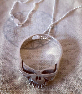 Steal Your Face Pendant Necklace