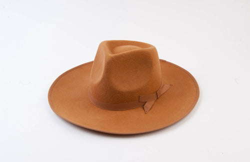 Tan Rancher Wool Hat