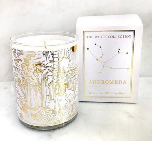 Andromeda White Candle Collection