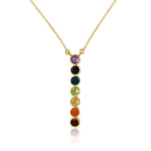 Divine Chakra Gold Necklace