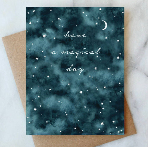 Night Sky Birthday Card