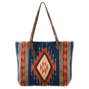 Tribal Diamond Tote