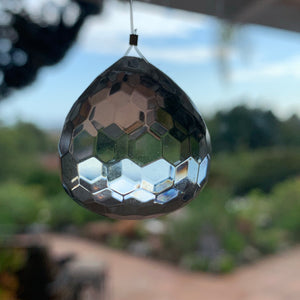 Quartz Crystal Hanging Suncatcher