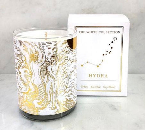 Hydra White Collection Candle