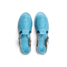 Load image into Gallery viewer, Baby Blue Huarache Sandals