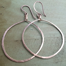 Load image into Gallery viewer, Silver Full Moon Earrings