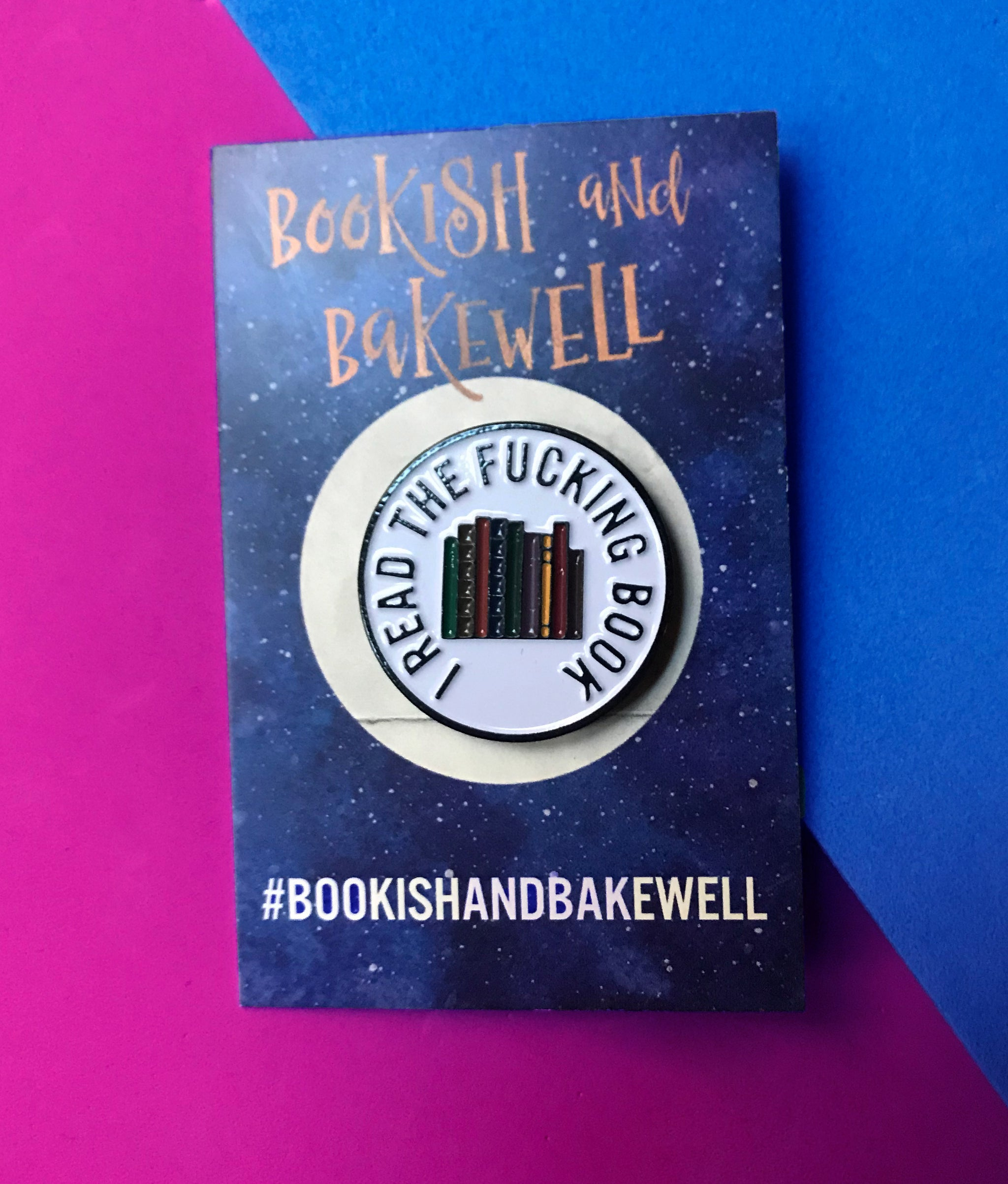 """I Read The… Book"" de Bookish & Bakewell"