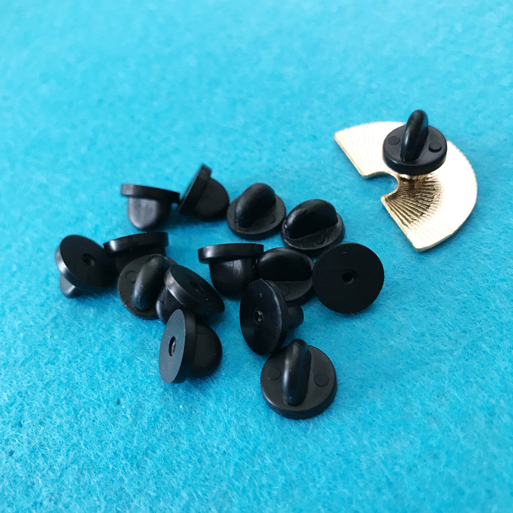 Rubber closure for pins - Color Black