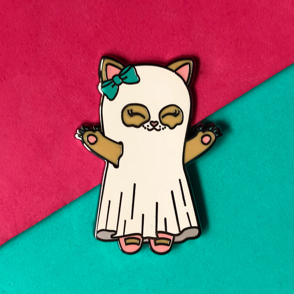 "Fantasma Kitty de ""LuxCups Creative"""