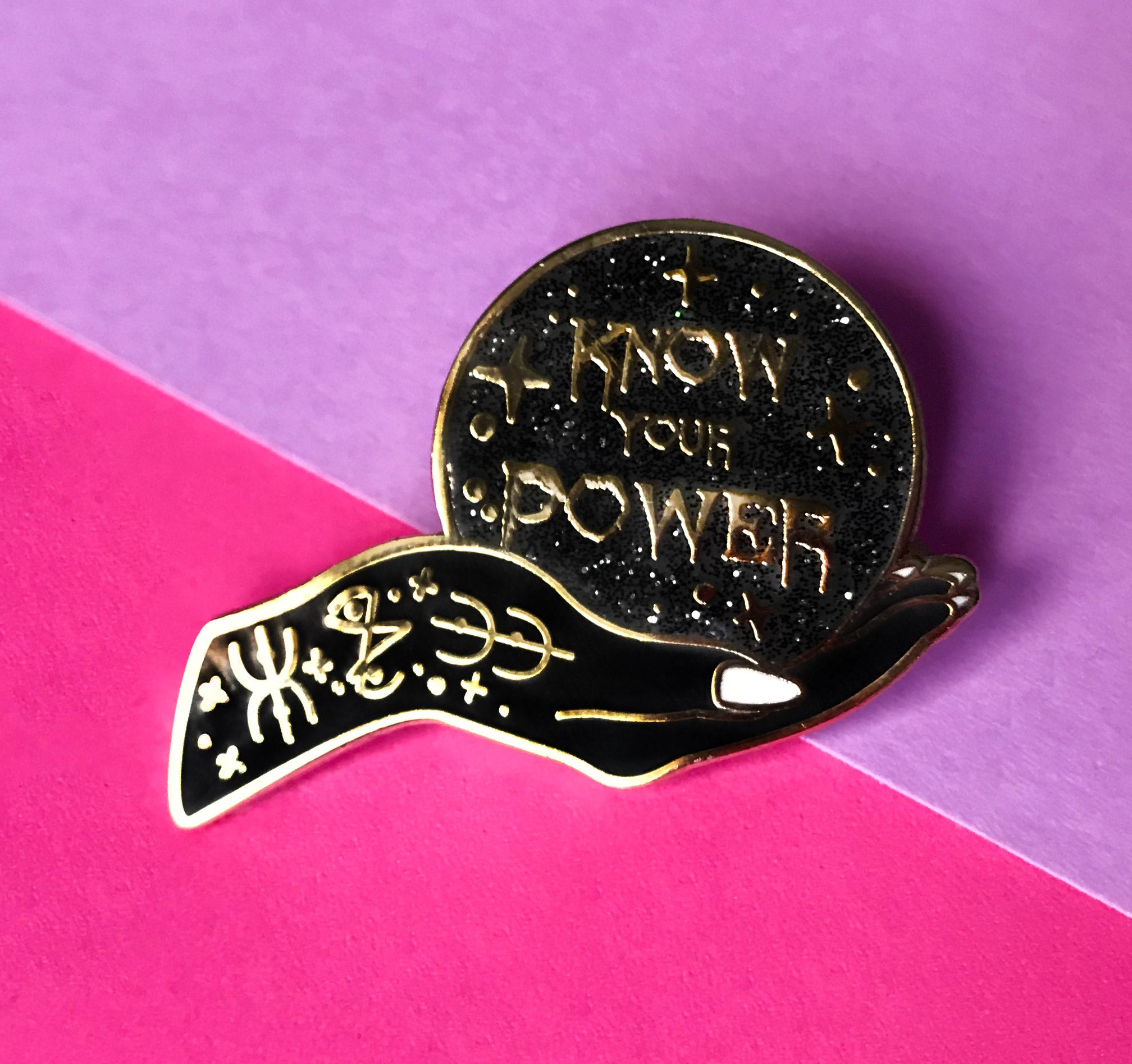 """Know Your Power"" - Glitter Punk"