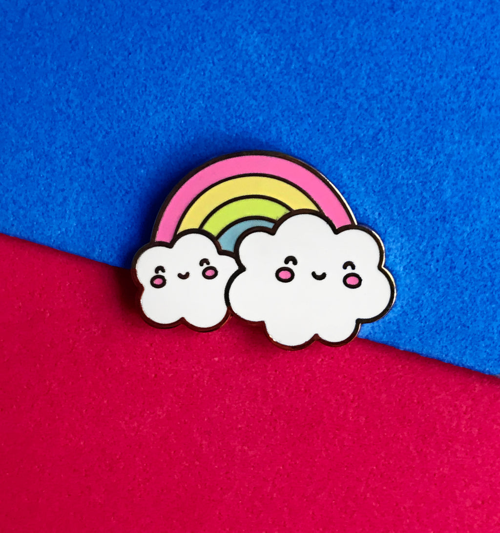 Kawaii Rainbow Clouds