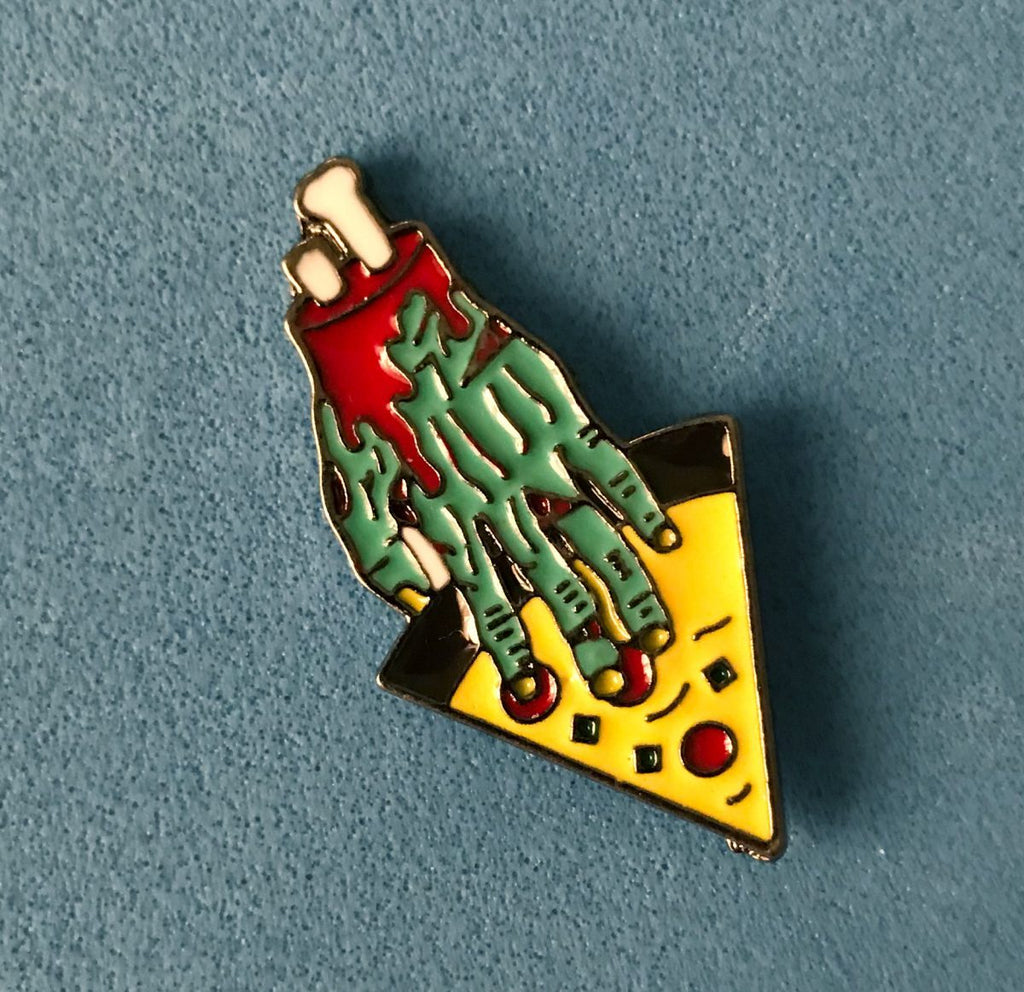 Pin de Death Pizza