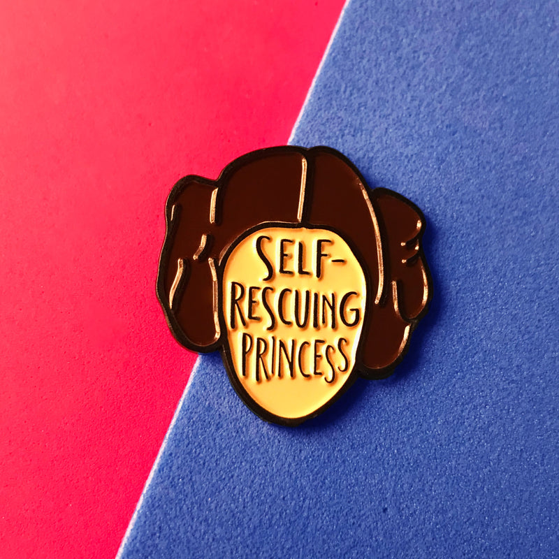 """Self-rescuing Princess"" de Bookish & Bakewell"