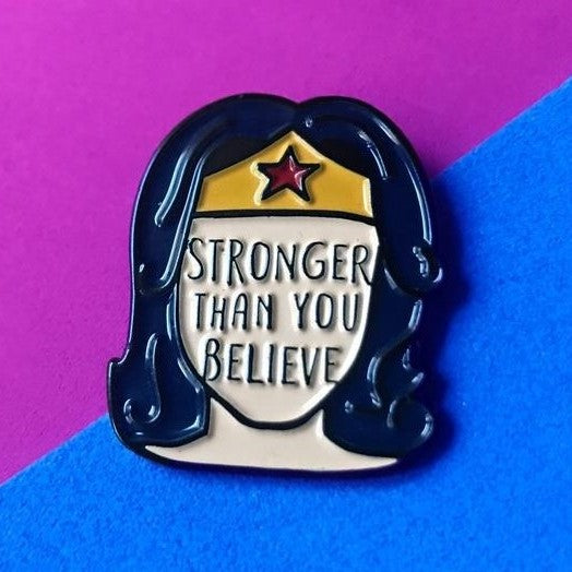 """Stronger Than You Believe"" - Bookish & Bakewell."