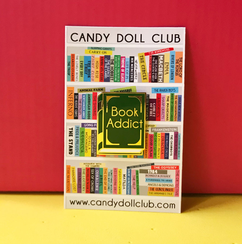 "Book Addict de ""Candy Doll Club"""