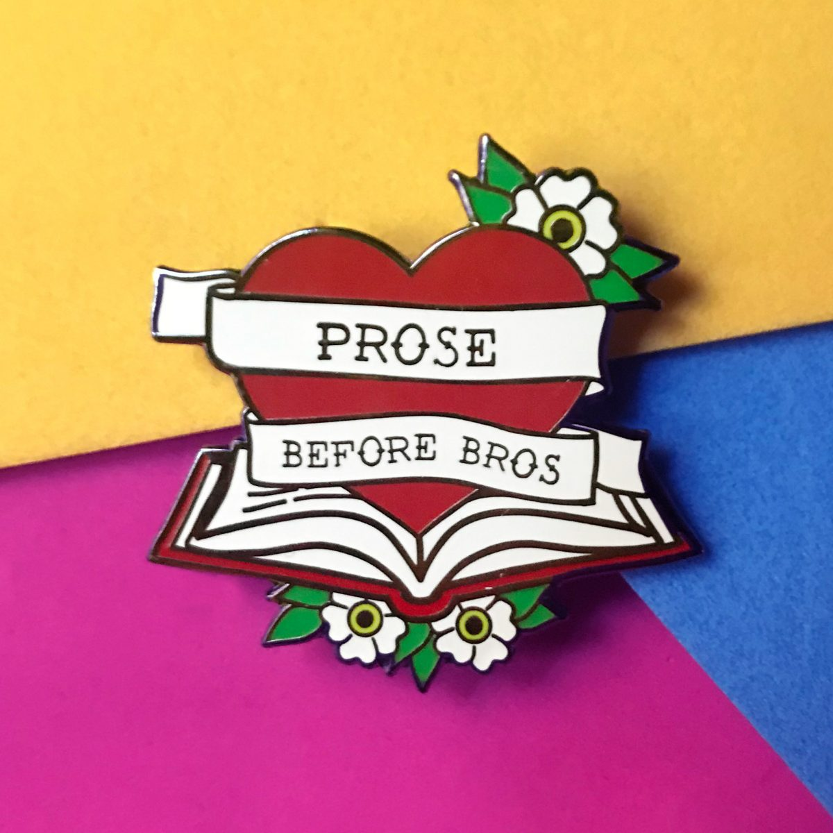 """Prose Before Bros"" -  Bookish & Bakewell"
