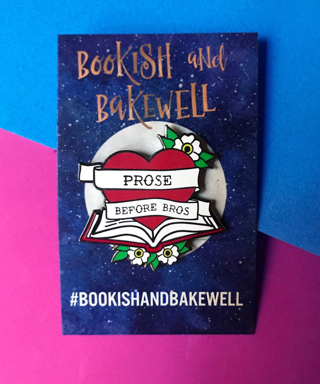 """Prose Before Bros"" de Bookish & Bakewell"