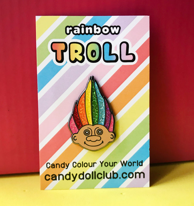 "Rainbow Troll - ""Candy Doll Club"""