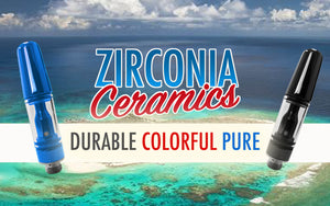 Durable colourful and pure zirconia cartridges from DMLift Inc.