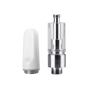 White ceramic tip with silver 023 base