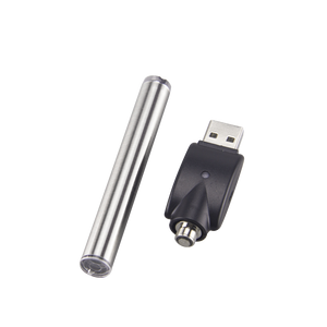 Silver 510 threaded battery with charging device