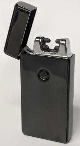 Black Double Arc Lighter
