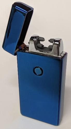 Blue Double Arc Lighter