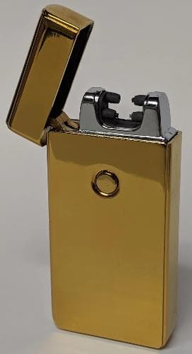 Gold Double Arc Lighter