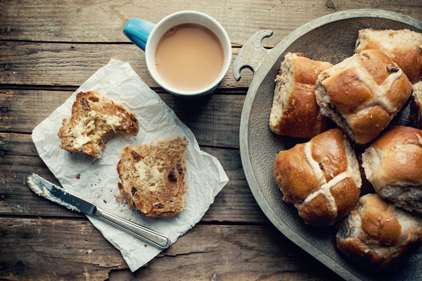 The Best Hot Cross Buns with Wattleseed