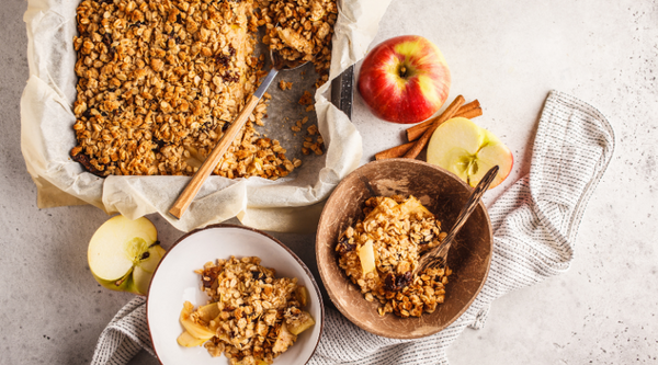 EASY Apple Crumble with Wattleseed