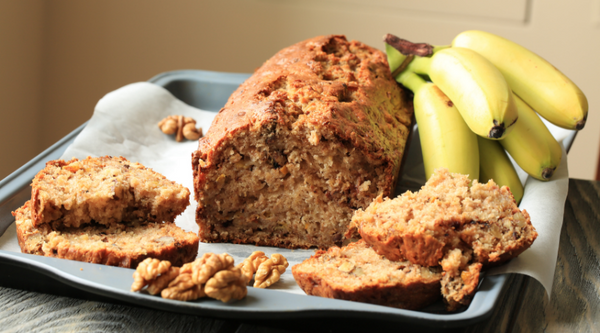 Easy 1 Bowl Banana Cake