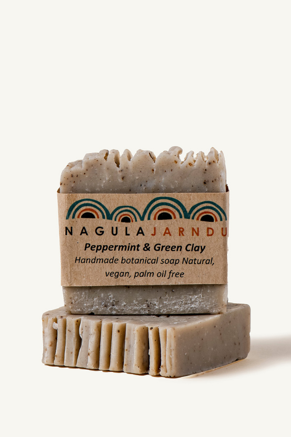 Nagula Jarndu Peppermint & Green Clay Bush Soap