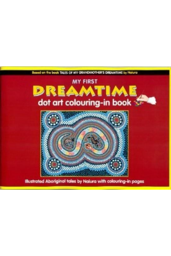 my first dreamtime dot-art colouring book
