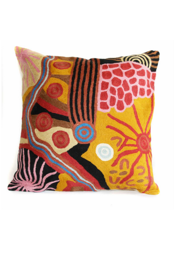 Cushion Cover - Damien and Yilpi Marks