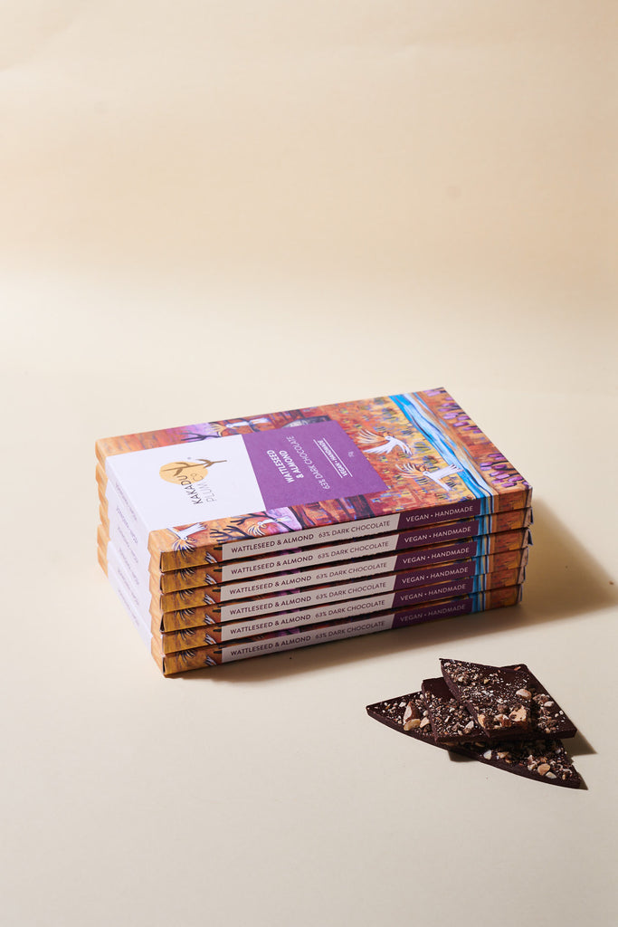 Wattleseed and Almond Chocolate - Kakadu Plum Co