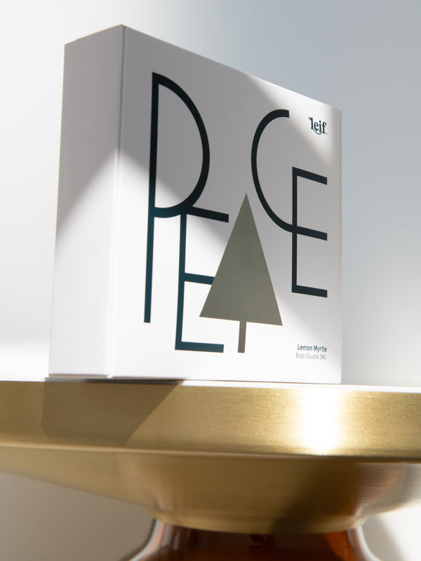 Leif Limited edition Christmas 'Peace' Body Double - Desert Lime