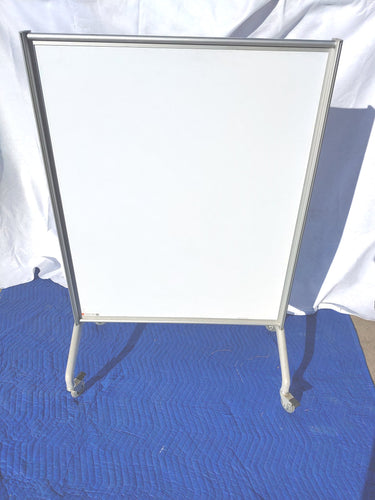 Egan Presentation Mobile Whiteboard with Locking Wheels