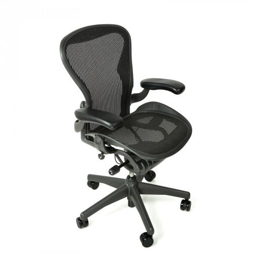 Herman Miller Aeron Chair Size A (Small) (Classic 2nd Gen) - Fully Loaded - (Graphite)