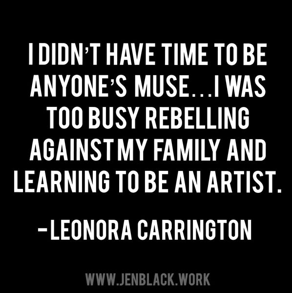 leonora carrington quote