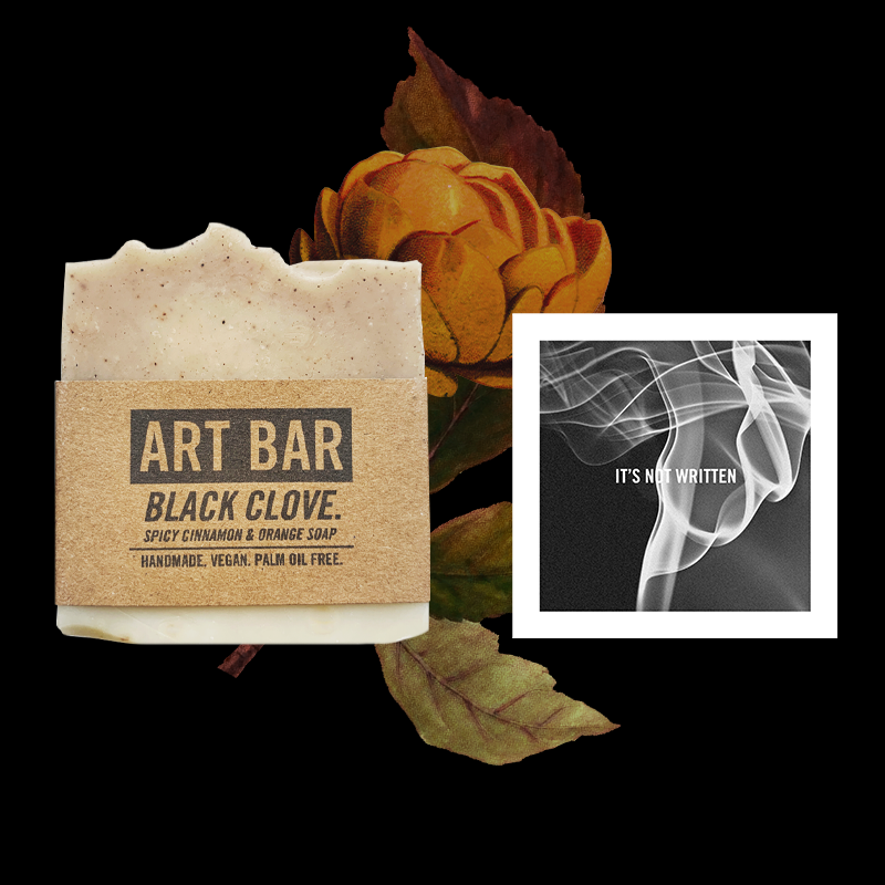 Black Clove Vegan Soap + Limited Edition Print - Jen Black
