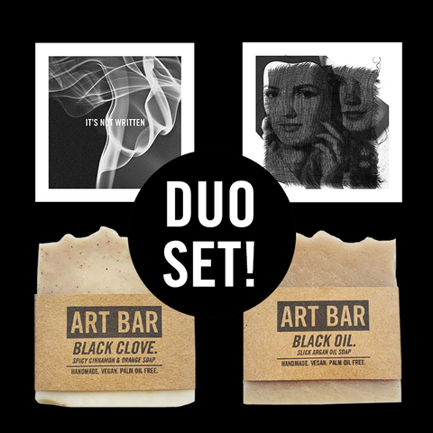 ART BAR / DUO SET (2 Art Bars + Limited Prints) - Jen Black