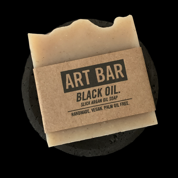 ART BAR / Concrete Soap Dish - Jen Black